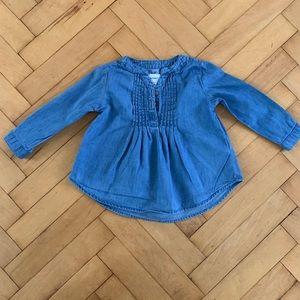 Blue Jean top